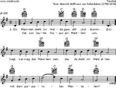 Ein Männlein steht im Walde - Kinderlieder und Singspiele | Labbé Verlag