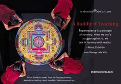 """Buddhist teaching from Kalu Rinpoche. From """"Offerings,"""" item BK307, dharmacrafts.com. #dharmacrafts"""