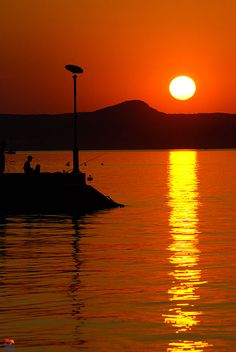 Balaton, Hungary Budapest, Austria, Camping Car, Beautiful Sunset, Homeland, Europe, Climbing, Around The Worlds, Destinations