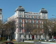 Madrid  antiguo. Palacio de la Duquesa de Medina de las Torres.