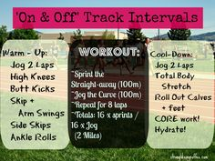 "#194: EXERCISE TIP- Practice ""On & Off Track"" intervals. #exercisetip #newyearnewyou"