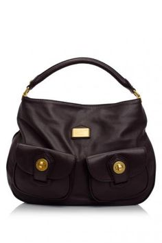 Marc By Marc Jacobs House of Marc Hobo (deep plum)