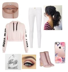 """❤️"" by mara-calinescu on Polyvore featuring beauty, Frame, Laurence Dacade and Casetify"