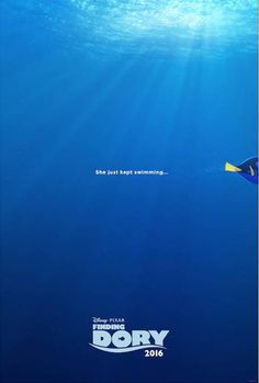 "The Disney*Pixar movie ""Finding Dory"" is set to swim into theaters on June 17, 2016. Here's a look at the Finding Dory Teaser Trailer. #FindingDory"