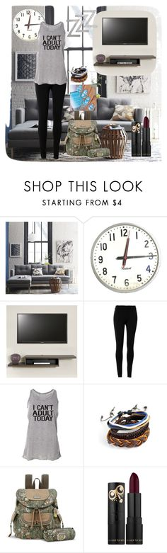 """""""End of Spring Break :("""" by infinity-587 ❤ liked on Polyvore featuring West Elm, Max Studio and Sakroots"""