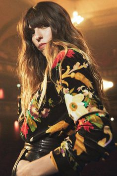 Ultimate French style icon Lou Doillon has teamed up with & Other Stories to create the chic new collection of our dreams and we want everything Charlotte Gainsbourg, Velvet Suit, Black Velvet Dress, Jane Birkin, Kate Moss, Rihanna, Lou Douillon, Tommy Hilfiger, Eartha Kitt