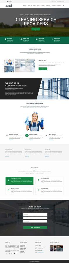 Cleaning Service, Ecommerce, Desktop Screenshot, Templates, Models, Stenciling, Stencils, E Commerce