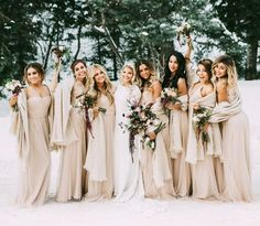 17 Unique Winter Wedding Color Palettes to Swoon Over via Brit   Co