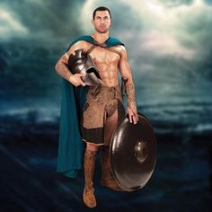 Greek Cape from the Movie 300: Rise of an Empire