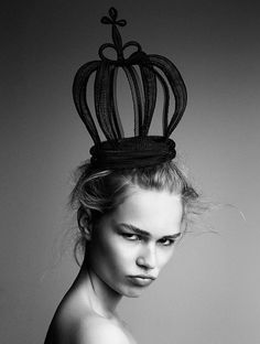Anna Ewers by photographer Patrick Demarchelier for Interview Sep 2014