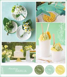 Magnolia Rouge - Inspiration Board for the Dahlia Design by Ruby & Willow #dahliainvitations #weddinginvitations