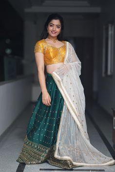 Short Biography Rashmika Mandanna was born on in Virajpet, Kodagu in the state of Karnataka, India. She is an Indian Model . Beautiful Girl Indian, Most Beautiful Indian Actress, Beautiful Actresses, Beautiful Saree, Indian Film Actress, Indian Actresses, Tamil Actress, Hot Actresses, Lehenga Choli
