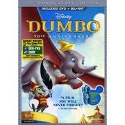 DUMBO-70TH ANNIVERSARY EDITION (DVD/BR/2 DISC COMBO/FS) DVD PKG