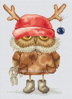 Buy+Owlet's+New+Reindeer+Hat+Chart+Online+at+www.sewandso.co.uk