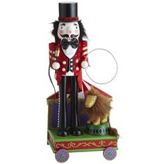 Circus Ring Master Nutcracker...bought this last year from Pier 1...cute
