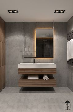 3d Bathroom Design, Bath Design, Bathroom Interior, Bathroom Basin Units, Stone Bathroom Sink, Big Bathrooms, Beautiful Bathrooms, Modern Baths, Bathroom Inspiration