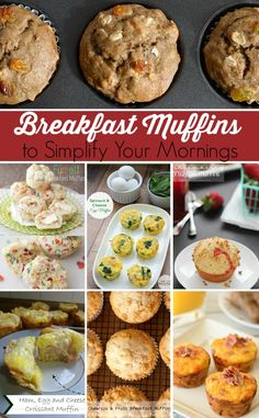 Need a quick, nutritious breakfast for your family? Look at these breakfast muffin recipes -- there's something for EVERYONE here!