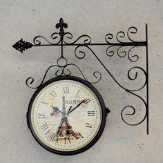 Relógio Estação Ville De Paris 7746