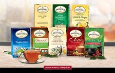 Get 3 Free Twinings Tea Samples! For a short time, We're offering three complimentary tea bag samples to our visitors