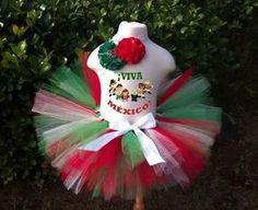 disfraz tutu vestido 15 de septiembre revolución mexicana