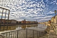 Lungarno in HDR - An HDR Shoot in Pisa, Tuscany, Italy