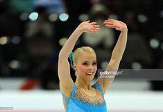 Finland's Kiira Korpi performs during Ladies Short programme of the European Figure Skating Championships in Bern on January 28, 2011. Kiira Korpi won the Short Programme with 63.50 points.