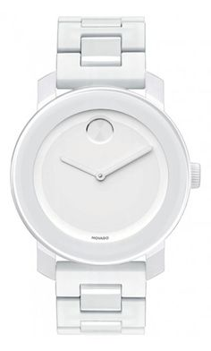 Movado | Movado Bold Medium White Bracelet Watch