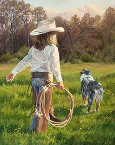 Cowgirl at heart.
