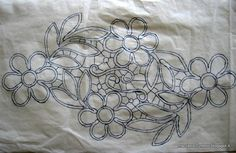 Cutwork Embroidery, Floral Embroidery Patterns, Macrame Patterns, Lace Patterns, Crochet Doily Patterns, Crochet Motif, Doilies Crochet, Paper Embroidery, Clothes Patterns