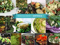 20 plant-based kale recipes from the http://www.yumuniverse.com community...yum