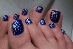 Wonderful Foot Toe Nail Art Design 5 - 6i3eq3uy