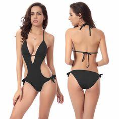 dd2910f447 2016 High Quality Summer Sexy Women Swimsuits Push Up Brazilian Bikini One  Piece Smonokini Bathing Suit Maillot De Bain   Sexiest clothes like  lingerie bra ...