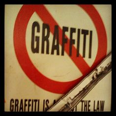graffiti is the LAW
