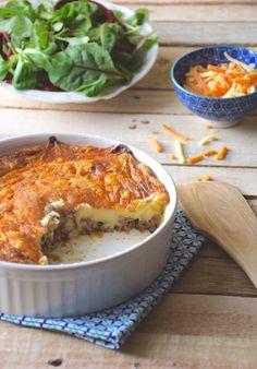 Polenta, Cornbread, Lasagna, Macaroni And Cheese, Healthy Recipes, Healthy Food, Potatoes, Beef, Anne Sophie