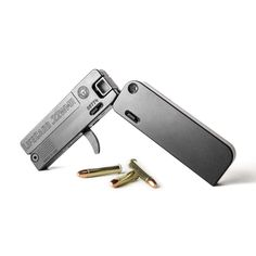A folding, single-shot pistol that's no bigger than a stack of credit cards. LifeCard will be the last gun you'll leave behind. Cz 75 Shadow, Steel Barrel, Pocket Pistol, 22lr, Firearms, Shotguns, Survival Gear, Survival Stuff, Gadgets And Gizmos