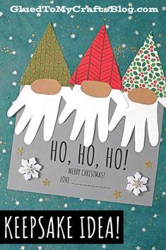 Crafty Christmas Gifts, Christmas Crafts For Kids To Make, Toddler Christmas, Christmas Fun, Holiday Crafts, Fall Crafts, Holiday Ideas, Keepsake Crafts, Xmas