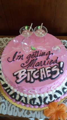 Bridal Shower/ Bachelorette cake