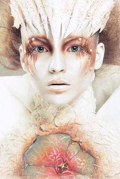 Natalia Domovets artistic creative makeup art