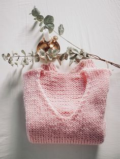 Knitted Hats, Knit Crochet, Reusable Tote Bags, Embroidery, Knitting, Pattern, Sweaters, Crafts, Diy