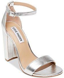 e6c9e540e75 Silver High Heels - Macy's | Silver heels in 2019 | Silver shoes ...