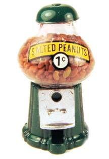 """Peanut machine $9.50 Miniature  1 1/4""""tall"""