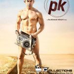 The first look official poster of Rajkumar Hirani's directorial PK's is out now. Mr. Perfectionist of Bollywood, Aamir Khan poses nude in the poster, wearing nothing but holding a transistor. The actor Aamir Khan in the first look poster of PK seen gazing...