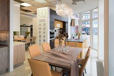 Otvorili sme nové kuchynské štúdio v Podunajských Biskupiciach. Dining Table, Furniture, Home Decor, Decoration Home, Room Decor, Dinner Table, Home Furnishings, Dining Room Table, Home Interior Design
