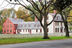 Old colonial home in Deerfield, Massachusetts   New England Living