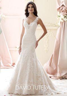 David Tutera for Mon Cheri Wedding Dresses