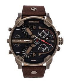 Diesel Mr Daddy 2.0 Chronograph Watch   Gunmetal