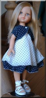 Patron gratuit pour cette jolie robe - free pattern for this pretty dress