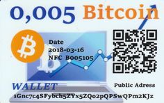 0,005 Bitcoin NFC peňaženka – DiGiPAY.sk Cryptocurrency, Coding, Programming