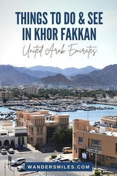 best things to do and see when you visit Khor Fakkan in the United Arab Emirates | Culture of UAE | Al Bidya Mosque | Khor Fakkan Fish Market | Khor Fakkan Heritage Village | Khor Fakkan Al Hisn Museum | Snorkeling at Snoopy Island Khor Fakkan Asia Travel, Eastern Travel, Dubai Travel, Travel Guides, Travel Tips, Travel Advice, Parasailing, Best Hotel Deals, The Far Side