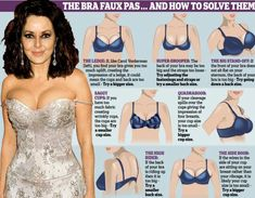 Bra faux past cheat sheet. :) some women (and men) need this more than others...
